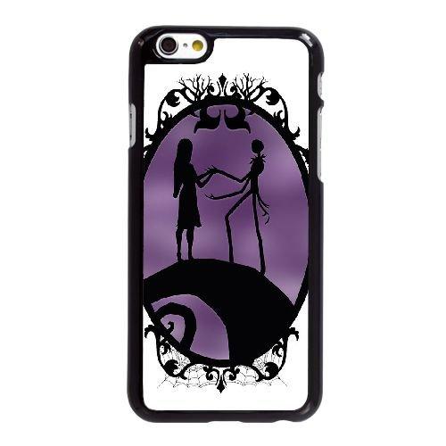 Y4V80 Nightmare Before Christmas V2T8XE coque iPhone 6 Plus de 5,5 pouces cas de couverture de téléphone portable coque noire KT0EYG0IJ