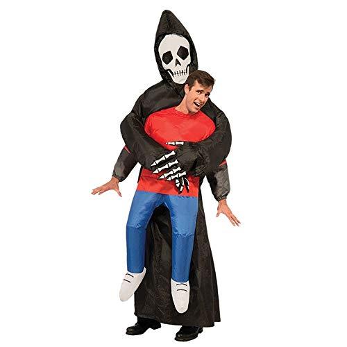 Halloween Inflatable Final Destination Costume Blow Up Fancy Dress Costume,A-120-140cm ()