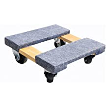 Milwaukee Hand Trucks 33815 15-Inch by 15-Inch Furniture Dolly with Carpeted Ends