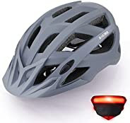 Zacro Bike Helmet Adult with Light - CPSC CE Safety Certified Bicycle Helmet, Lightweight Mountain Bike Helmet
