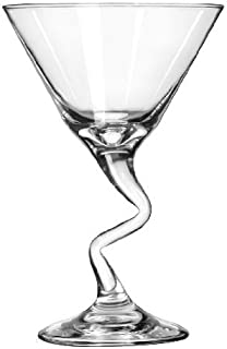 product image for Libbey 9.25-Ounce Clear Stem Martini Glass, Set of 12