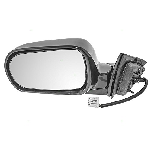 Drivers Power Side View Mirror Heated Ready-to-Paint Replacement for Acura (2001 Acura Tl Mirror)