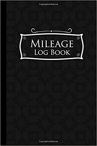 amazon com mileage log book mileage book for car mileage keeper