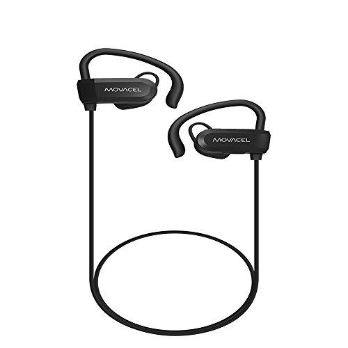Fone de Ouvido Bluetooth 4.1 MOVACEL estéreo, microfone, bateria longa duração, Movacel,, Acessórios para Smartwatch, Preto, Único