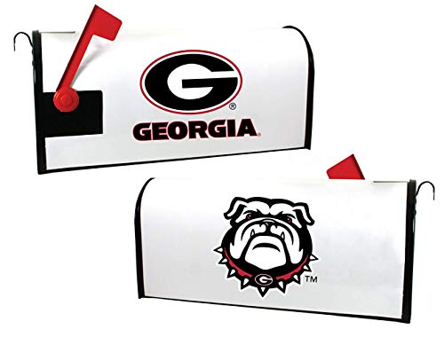 R and R Imports NCAA Georgia Bulldogs Magnetic Mailbox Cover-White (Georgia Bulldog Mailbox Cover)