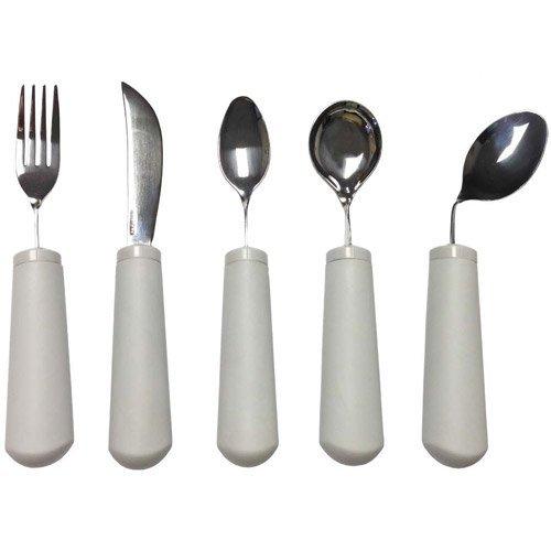 Kinsman Classic Bendable Utensils : Utensil Set (Fork, Knife, Teaspoon, Soup Spoon) by Kinsman