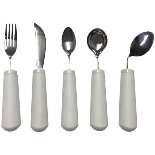 - Kinsman Classic Bendable Utensils : Utensil Set (Fork, Knife, Teaspoon, Soup Spoon)