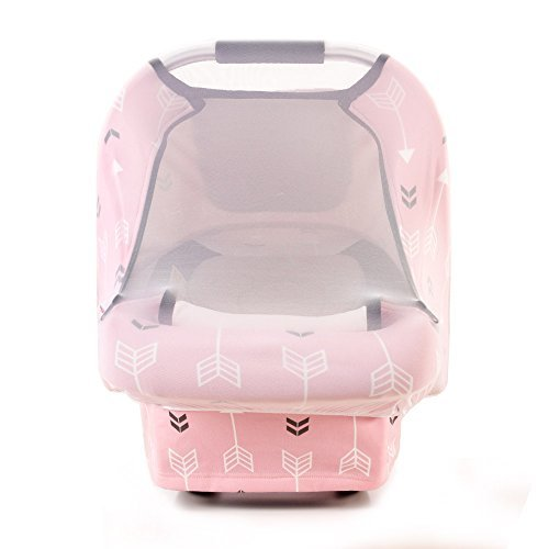 Stretchy Baby Car Seat Covers For Boys Girls Infant Canopy Spring Autumn WinterSnug Warm
