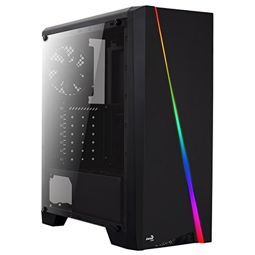 Aerocool Cylon RGB Midi-Tower PC Case - Black