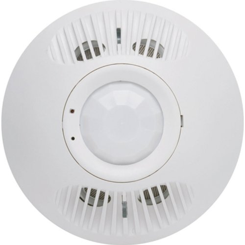 Passive Infrared Ceiling Sensor (Hubbell Building Automation OMNIDT500 Digital Passive Infrared and Ultrasonic Ceiling Occupancy Sensor, 500-Square-foot Range)
