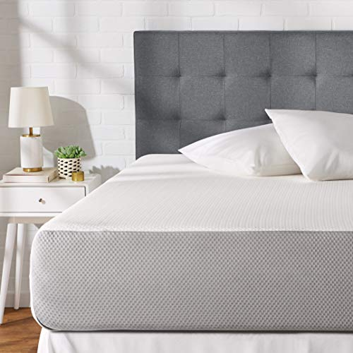 AmazonBasics Memory Foam Mattress - 12-Inch, Twin Size - Soft Bed, Plush Feel, CertiPUR-US Certified, Breathable, Easy Set-Up