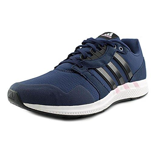 Adidas Damesuitrusting 16 Enkelhoge Hardloopschoen Collegiaal Marine / Kern Zwart / Roze Glans