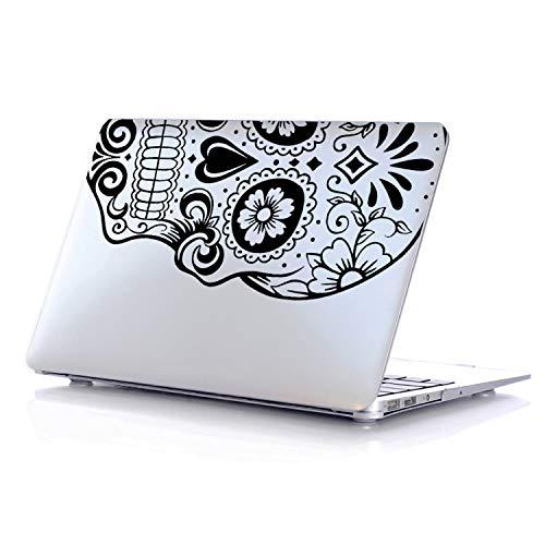 PhoneTatoos Funda para MacBook Air de 13 Pulgadas, Color Plateado, Carcasa rígida de plástico Compatible con Apple Modelo...