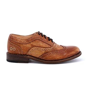 Bed Stu Women's Lita Oxford Tan Driftwood Shoe - 8 B(M) US