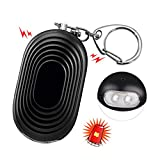 SYOSIN Personal Alarm, 130db Safesound Safety Emergency Alarm with LED and Self Defense Security SOS Emergency Alarm Providing Powerful Safety for Women, Elderly, Kids, Runners