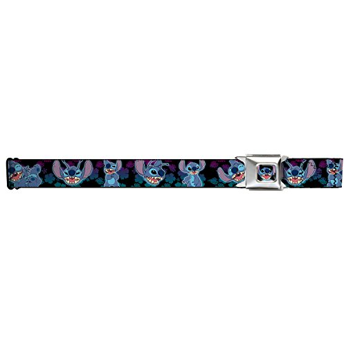 [Stitch 2-expressions/2-poses Tropical Flora Seatbelt Belt] (Easy Lilo And Stitch Costumes)