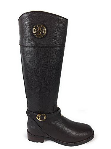 Tory Burch Teresa Riding Boot - Tumbled Leather - Coconut (7.5)