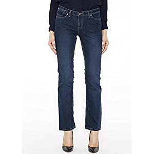 Canyon River Blues Stretch Denim Jeans for Women – Slim Fit, Straight Leg Cut, Midrise