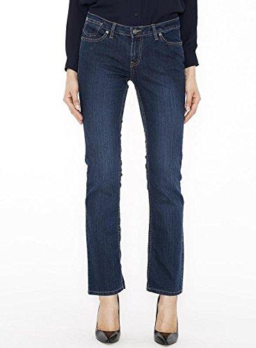 Canyon River Blues Stretch Jeans for Women - Slim Fit, Straight Leg Cut, Midrise – 14 - Denims Blue