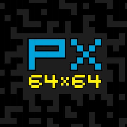 PX 64x64: 64px X 64px Pixel Art Sketchbook, Sketchpad and Drawing Pad for  Pixel Artists, Indie Game Developers, Retro Video Game Makers & Pixel Art