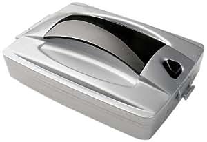 Wenko 7446100 - Cepillo de mano para barrer la mesa, de plástico, 17.5 x 5.5 x 11, color plateado y negro