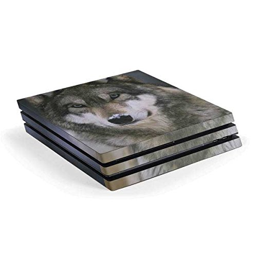 Animal Photography PS4 Pro Console Skin - Gray Wolf at International Wolf Center | Animals & Skinit Skin by Skinit