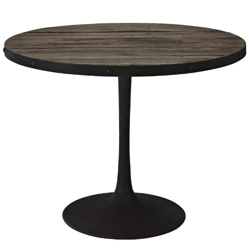 Industrial Reclaimed Wood Cafe Table (Reclaimed Wood Dining Table Cheap)