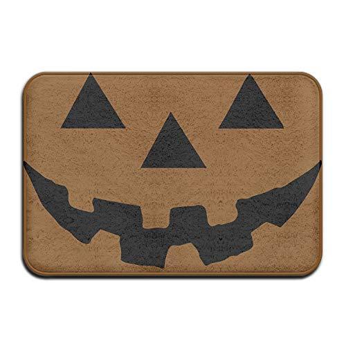 Pumpkin Halloween 1-1 Indoor Outdoor Entrance Rug Non Slip Floor Mat Doormat Rugs for Home -