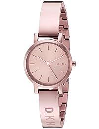DKNY Women's NY2308 Soho Analog Display Analog Quartz Rose Gold Watch