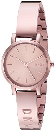 Dkny Gold Watch (DKNY Women's 'Soho' Quartz Stainless Steel Casual Watch, Color:Rose Gold-Toned (Model: NY2308))