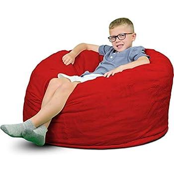 Amazon Com Fugu Bean Bag Chair Premium Foam Filled 4 Xl