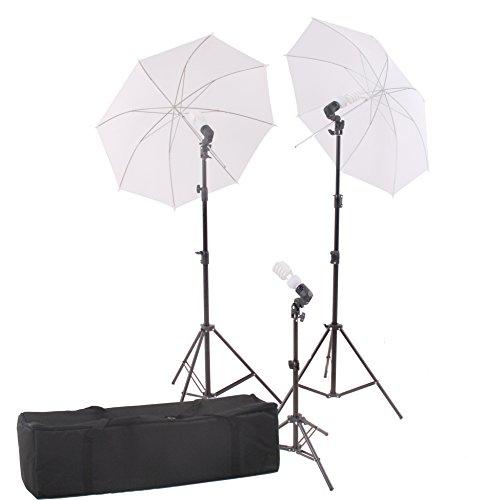 StudioFX Photography Photo Portrait Studio 600W Day Light Umbrella Continuous Lighting Kit by Kaezi CHDK3 by StudioFX (Image #5)