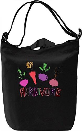 Herbivore Borsa Giornaliera Canvas Canvas Day Bag  100% Premium Cotton Canvas  DTG Printing 