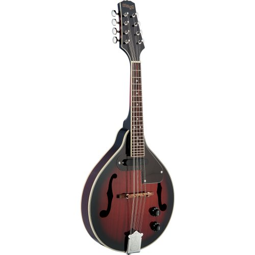 Stagg M50 E Bluegrass Mandoline rot burst