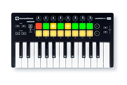 Reverb Software - Novation Launchkey Mini 25-Note USB Keyboard Controller, MK2 Version