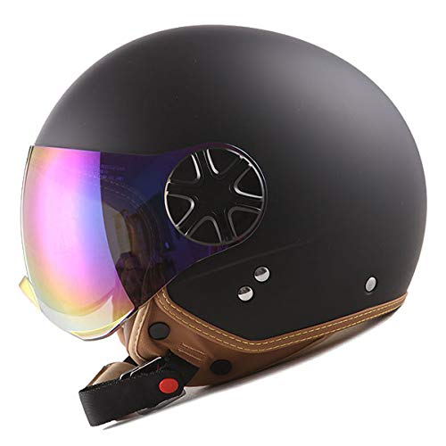1STORM MOTORCYCLE SCOOTER BIKE OPEN FACE/HALF FACE ()