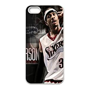 Allen Iverson iPhone 5 5s Cell Phone Case White SUJ8438592