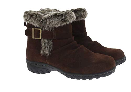 Khombu Women's All-Weather Lindsey Suede Boots (7, ()