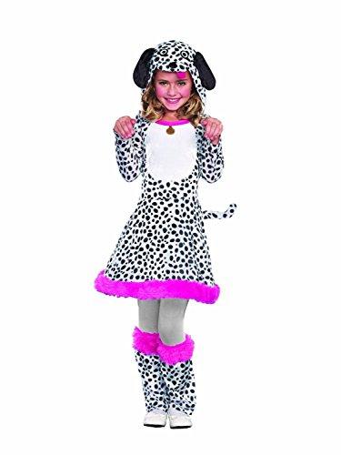 Seeing Spots, Dalmatian Doggy Puppy Halloween Costume, Teen, Girls, XSmall (Costumes Teen Girls)