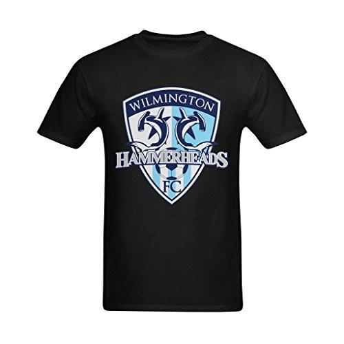 Youranli Men's Wilmington Hammerheads Football Club Tees L