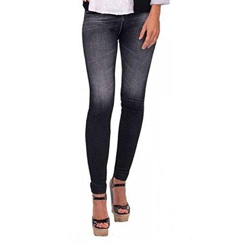Slim Shaper Jeggings Caresse Shapewear Slimming Black Skinny Thane N Body Jeans Trousers Lift vqYvdTp