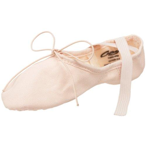 Capezio Toddler/Little Kid Canvas Juliet 2028C Ballet Shoe,Light Ballet Pink,13 M US Little -