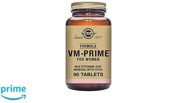 SOLGAR - VM PRIME WOMEN 90comp 1132954: Amazon.es: Salud y cuidado personal