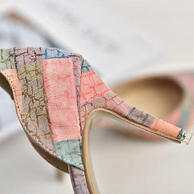 de US6 Casual de amp;Amp; el Plataforma del Wedding color Primavera hebilla Noche Zapatos UK3 Vestido talones Party UK4 UE36 pantalla mujeres Las Verano EU35 Club US5 Sequin Glitter CN36 CN34 FYios la qSOwaa