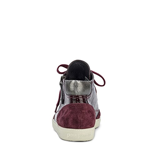 Femme Paul Pour Bordeaux Baskets Green znHwqA1