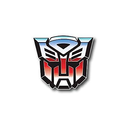 amazon com 3 transformers autobots logo decal sticker for case car
