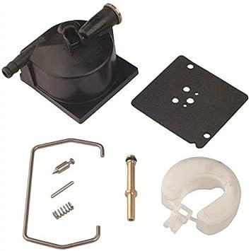 Kuang 49 - 237 carburador flotador cuenco Asamblea Kit de reparación Crowbar Tecumseh 730638: Amazon.es: Jardín