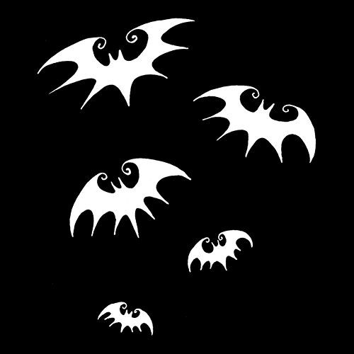 Flying Bats Silhouette Halloween 6