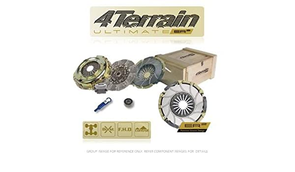 4Terrain Ultimate Clutch Kit | 4Terrain ER2 Heavy Duty Cover Assembly | 4Terrain Aramid Dual Friction, High Torque, Clutch Plate | Release bearing | Clutch ...