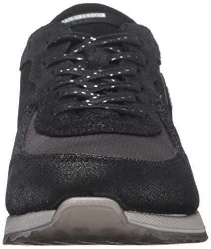 Black Femme Ladies Basses black Black50117 EU Weiß Ecco Noir Sneak Black Baskets 42 wqSInz6